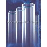 transparent quartz tube-Uv stop quartz tube, ozone