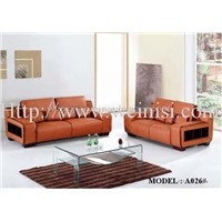 1+2+3 Leather Sofa (A026#)