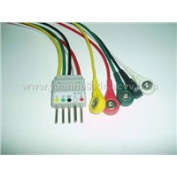 BR-004P button type 5-lead wire