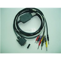 One piece 10-lead ECG cable