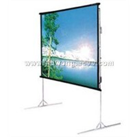 FAST-FOLD PROJECTION SCREEN