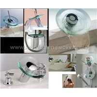 Waterfall glass faucet,mixer