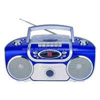 cassette player with CD/ radio
