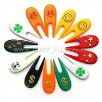 plastic divot tools