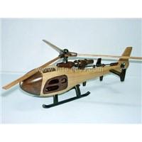 wooden vehicle model