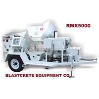 rmx5000 refractory spraying equipment