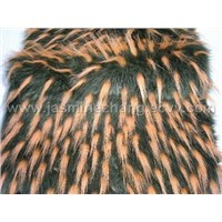 faux(fake) fur fabric: Jacquard Plush