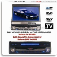 1 din DVD player, touch screen, all-in-one