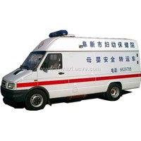 Ambulance van