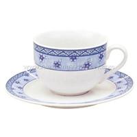 Shuihua Coffee Cup And Dish