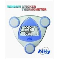 window sticker thermometer