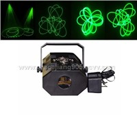 Green laser stage lighting