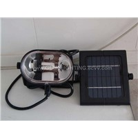 Fluorescent Solar Utility Light