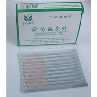 Sterile Acupuncture Needles for Single Use