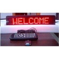 2.inch.7x50/Single Color led moving sign