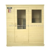 3-person sauna room