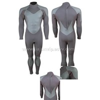 Neoprene wetsuit for surfing and diving