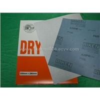 dry abrasive paper