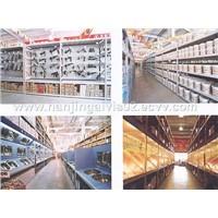 Building materials rack