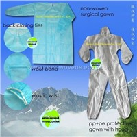 protective gown(sms coverall)