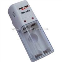 charger for 1-2pcs AA/AAA Ni-MH/Ni-Cd batteries