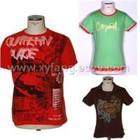 T-shirt stock