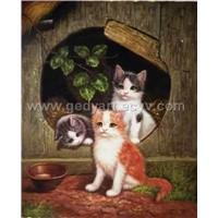 oil painting(animal)