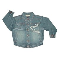 2006 NEW Phat Farm Denim Jacket for Kids