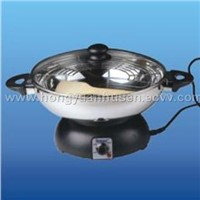 Electric Wok And Fondue Set