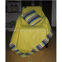 blanket and canvas cushion ---CAB01
