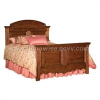 Arched Panel Bed & Bedroom Furniture