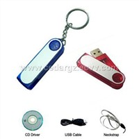USB Flash Disk with Keychain