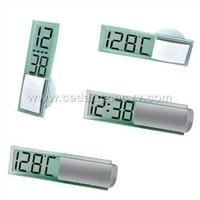 Mini Digital Clock / Thermometer