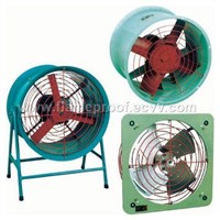 Flameproof explosion proof shaft type fans