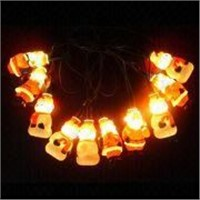 Santa and Snowman Christmas Rope Light, Customized Designs are Welcome