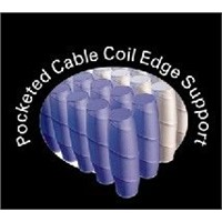 box spring - pocketed cable coil edge support