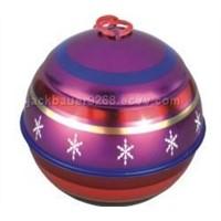 Candle tin,christmas tin,christmas gift