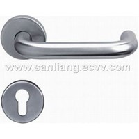 hollow lever door handle