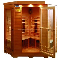 infrared sauna;steam sauna