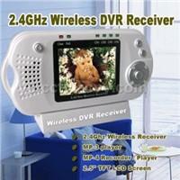 2.4 Ghz wireless DVR receiver
