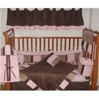 baby bedding set-soho pink