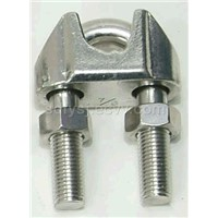 Wire rope clip (wire rope grip)