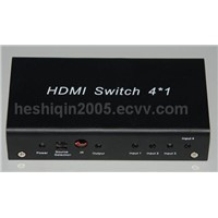 hdmi switch four in one out