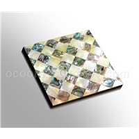 Shell Tile (Goldlip MOP & Abalone shell)