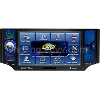 5.0inch Gui Touch Screen Dvd Player With Bluetooth and IPOD