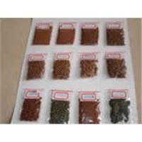 Brine shrimp eggs,Chlorella powder,Gammarus