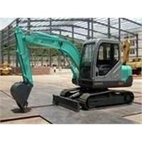 mini track shoe excavator