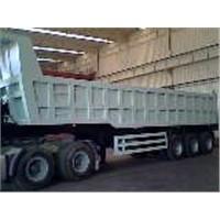 semi-dump truck
