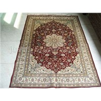 handmade silk carpet  s460799