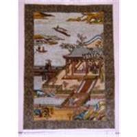 handmade silk carpet T169